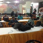 Social Media Camps #Karachi For Live Updates Of The Event On Social Media.#SufiConference #Pakistan #MQM http://t.co/djzdetJmDw