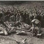 Today we remember 33 Bolton fans who were crushed to death on the 9th march 1946 in the Burnden Park Disaster. #BWFC http://t.co/fkpnY6lflg
