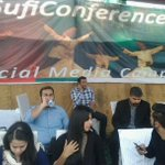 RT @oOol_JaLoOl: Spotted @faisalsubzwari , @abidifactor & youth from Lahore at Social Media Camp at #SufiConference http://t.co/LCyDVG3C8m