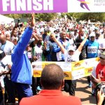 RT @CapitalFM_kenya: @FirstLadyKenya crosses the finish line at the end of the First Lady's Half Marathon photo @USEmbassyKenya http://t.co/0lLrNmD6FF