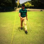 Golfing in Kodai! Good experience! http://t.co/qqkWQPqfPQ