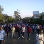 #Ingwe fans peacefully leaving Nyayo Stadium after we drew with Supersport Utd 2-2 in the #CAFConfederationsCup. http://t.co/JvJz2R4vW0