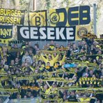 RT @BVB: Der Gästeblock in Freiburg // The away sector in Freiburg today #scfbvb 0-0 http://t.co/C0aGrmRMgS
