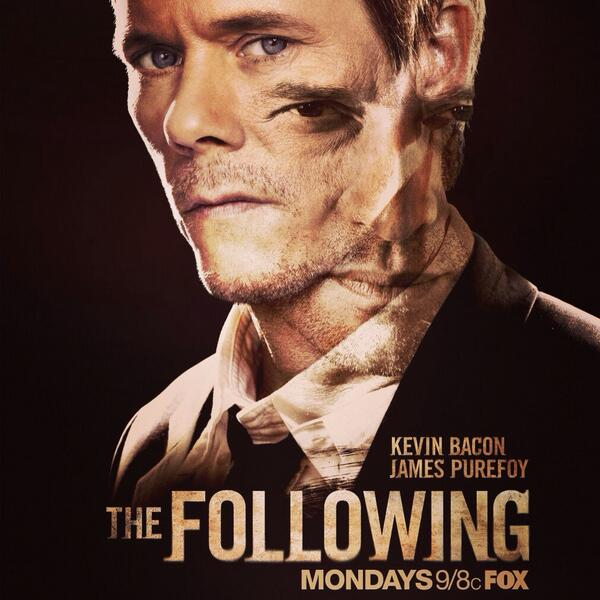 Tomorrow at 9:00pm catch me on FOX's The Following with the lovely @Tiffboone! http://t.co/uPeABeT6sr