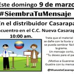 RT @MueveteJuventud: HOY domingo #9M 10am Nueva Casarapa Guarenas Guatire http://t.co/MrT3IPDQRz