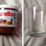 Does anyone else turn their Nutella jars into glasses? 😂 http://t.co/x1Aj86FCZY