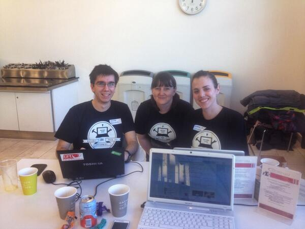 Team #cleanbites in #nhtg14 #london http://t.co/wTq6HyOfbr