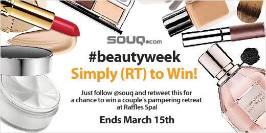 It's #beautyweek at http://t.co/8TkBkNtYzF! RETWEET this to win an awesome couple's retreat at Raffles Spa! #RT2win http://t.co/kF58p3QmR5