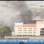So what exactly caused the Timers restaurant along Nairobi's Kenyatta avenue fire? http://t.co/14gMx6qmWr http://t.co/bntQw04PTz