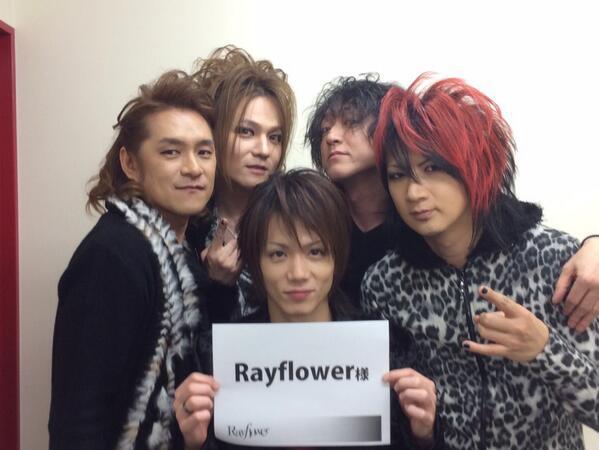 Rayflowerツアーファイナル無事終了!本当にありがとうございました!最高のツアーでしたぁ!次は8月24日赤坂BLITZで逢いましょう!\(^o^)/ http://t.co/QakCGSW8Xu