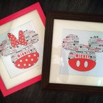 RT @YMDesigns_x: Seen here first - Mickey & Minnie Mouse - £29.99, UK P&P £5 - Red words customised to your own, or keep as seen #KPRS http://t.co/jq9ZiCzwLb