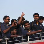 Champions of Asia, #OurLions are back in Srilanka with the #AsiaCup @MahelaJay http://t.co/FhQELcD9Sv