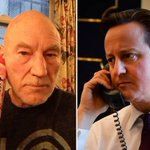 Picture of the week: @SirPatStew mocks the PM for his Ukraine crisis talks phone call photo http://t.co/ShessWtfrG http://t.co/CCOoyxBBgr