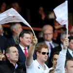 RT @EnglandRugby: Great to see @ClarenceHouses Prince Harry in the crowd supporting @EnglandRugby & #AllSchools today. #ENGvWAL http://t.co/GfOIgUAPVy