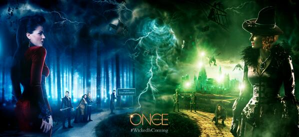 #WickedIsComing to Once Upon A Time.  Tune in for the spring premiere TONIGHT at 8|7c! http://t.co/ZYYWG7dgr2