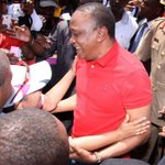 "Kheri wao! :) ""@CapitalFM_kenya: VIDEO: First Lady runs into Uhurus arms, watch via https://t.co/nmlulb3sD7 http://t.co/3OOlUc6erX"""