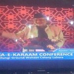 "Islam Spread With Love Not With Hatred"" Allama Abbas Kumeli Addressing At #SufiConference http://t.co/p3cVfHhirb"