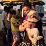 At t doggy fair wt my doll! Super fun http://t.co/hIS1Wr29kc