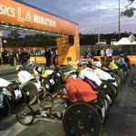 #LAMarathon #wheelchair competitors get ready for race. http://t.co/99ZzUYfrI4