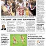 Sunday @HoustonChron sports front page, led by North Shores state title. Also, Dynamos season-opening rout. http://t.co/8TUQ2SBaJf