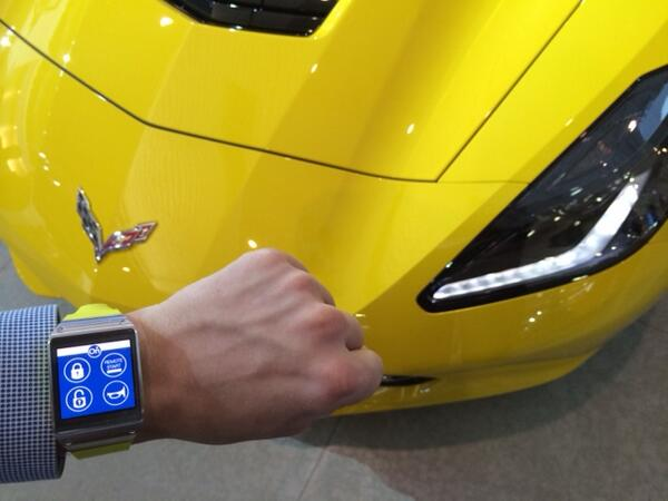Closest to KITT you can get! OnStar and Samsung to bring car connectivity to Galaxy Gear 2 Smart Watch. http://t.co/5AuI04FVO3