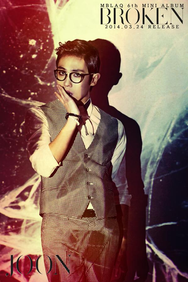 MBLAQ 6th Mini Album <BROKEN> 3월24일 릴리즈! 이준 사진! http://t.co/Y3xU0DSQFb
