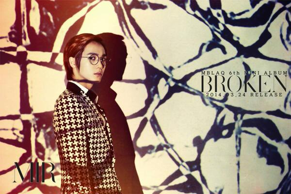 MBLAQ 6th Mini Album <BROKEN> 3월24일 릴리즈! 미르!!! http://t.co/Fj8Rk0kMrR