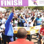 RT @waithash: Inspired today by @FirstLadyKenya. She did 21Kms marathon race & finished. I did 10kms, I can do better in future http://t.co/kOjWyFQ8P1