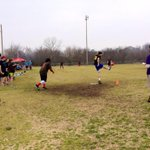 Dozens are spending their Sunday playing #kickball in Little Rock. First day of the season! #ARnews http://t.co/NWockvKWQZ