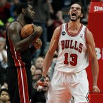 Joakim. (Tribune photo by Jose Osorio) #bulls http://t.co/YfI3AT6sLu