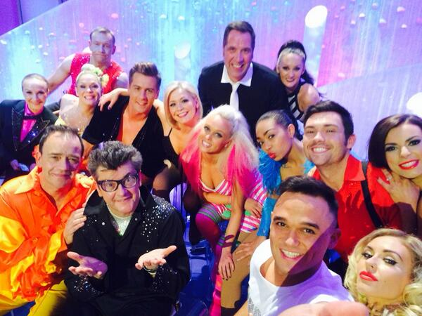 Dancing on Ice Selfie... http://t.co/jLdiw4zdXN