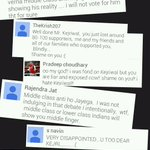 Some reactions from angry AAP supporters. http://t.co/ek1eldwftf