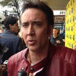 RT @FrontRowCtr: NICHOLAS CAGE on the #sxsw #SXSW2014 Red Carpet of JOE #Austin http://t.co/fTw7IeeL69