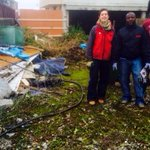 Wasteland changing into #organicgarden at #AsylumSeekers Hostel #Salthill #Galway.Great work by residents & @IoniaNC http://t.co/maHHTti0Px