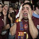 RT @MCFCworld: BREAKING: An Arsenal fan reacts to the FA Cup Semi Final Draw: #mcfc #afc #FACup http://t.co/AM1dKwHytP