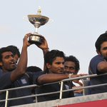 RT @CricketNDTV: Asia Cup champions Sri Lanka return home to rousing welcome in Colombo. http://t.co/irijjEKXof