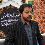 Junaid Iqbal hosting the Historic event by #MQM #SufiConference #Pakistan #Karachi #Lahore http://t.co/2kEyCu3dwc