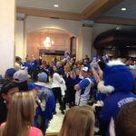 Awesome to see so many fans show up at the hotel! @IndianaStateMBB #ArchMadness http://t.co/HT3twp1ptH