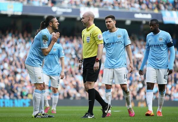 BiTN RwCMAAVNlj Martin Demichelis the butt of all the jokes again after giving away penalty v Wigan