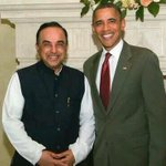 The worlds most powerful man @BarackObama knows the importance of meeting Indias top political strategist @Swamy39 http://t.co/u4bPGqZV9w