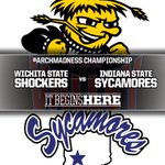 Shockers & Sycamores. #ArchMadness Final. 1 pm CT on CBS. http://t.co/pSKilX59sY