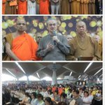 Buddhists,Muslims,Hindus&Christians gathered in KLIA reading out prayers to those in #MH370. The beauty of my country http://t.co/uH3wv1Kgez