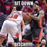"RT @MrsLeanOfficial: ""@CaMeRoN_sAYeRs: ""@__BullsNation__: #BeatTheHeat #BullsNation""Yall aint nothing but #BULLSHIT"" http://t.co/zKO8son6SN"