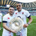 RT @EnglandRugby: Heres the two try scorers with the Triple Crown. #ENGvWAL #CarryThemHome http://t.co/ishuUOCbgN