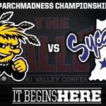 RT @ValleyHoops: #ArchMadness Championship: Wichita State vs. Indiana State. Live Stats: http://t.co/OjvbQLSpMh Watch: CBS at 1pm CT http://t.co/kW8mpN7WAd