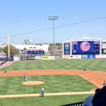 RT @weatherlindsay: Beautiful day for a little @RaysBaseball @Yankees baseball #SpringTraining http://t.co/Jf7ivw58T6