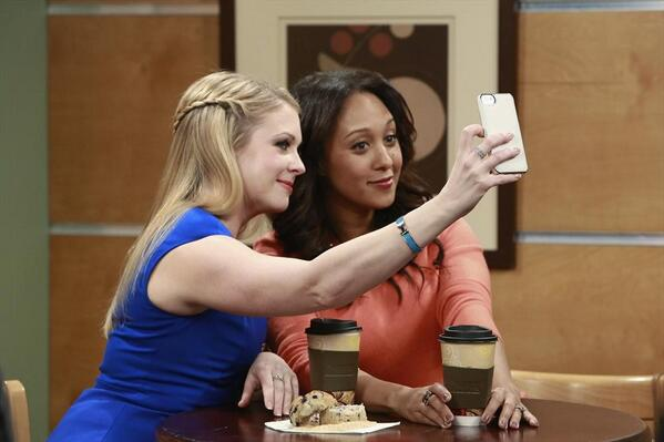 Recognize this gorgeous face?! RT if you can't wait to see the lovely @TameraMowryTwo guest star on #MelissaandJoey! http://t.co/kQDeOEPeHl
