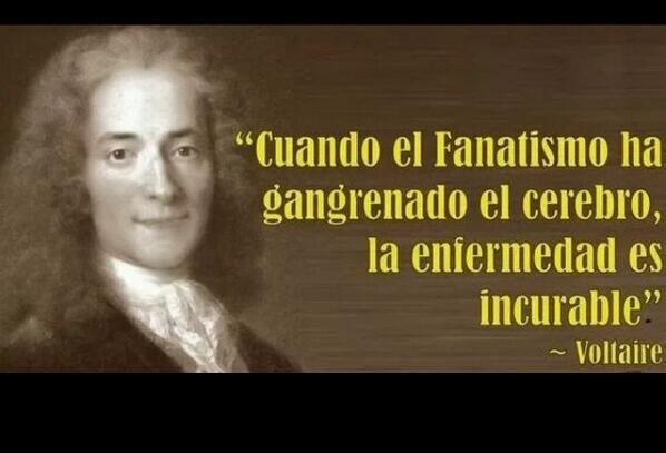 Sabía frase de Voltaire! Feliz domingo http://t.co/2Puvsgf7y6