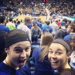 RT @IndianaStSoccer: Sycamores supporting Sycamores! Brittany & Kayla having a great time supporting @indianastatembb in St. Louis! http://t.co/kVY7l9UQyO