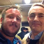 "RT @tedkravitz: Great spot.. What did he say? ""@Fifiarufc: Ive found him!!! Martin Whitmarsh at twickenham http://t.co/luGew23Umw"""
